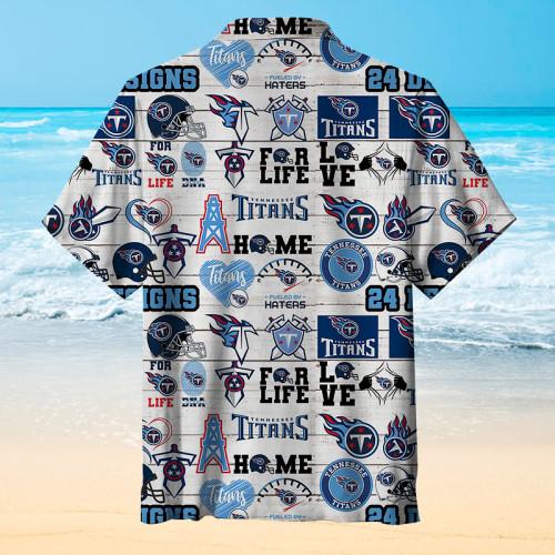 Tennessee Titans Micro Seal Hawaiian Shirt