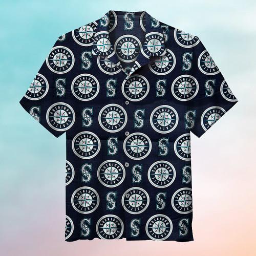 Seattle Mariners Hawaiian Short Sleeve Shirt