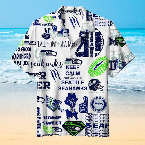 Seattle Seahawks Unisex Hawaiian Shirt