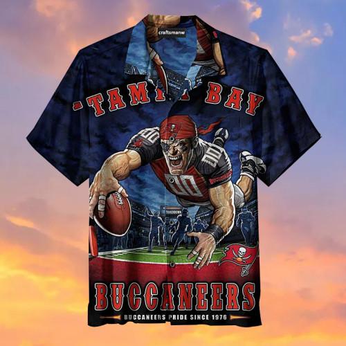 Tampa Bay Buccaneers-My Favorite Football Team Hawaiian Shirt