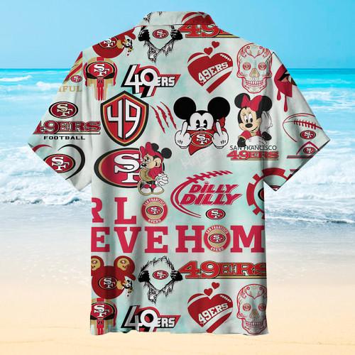 San Francisco 49ers Football Hawaiian Shirt
