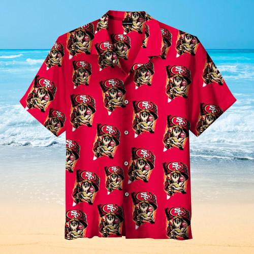 San Francisco 49ers - Hawaiian Shirt