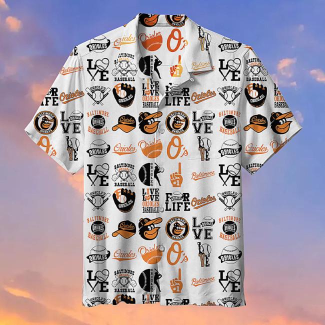 Baltimore Orioles-Hawaiian shirt