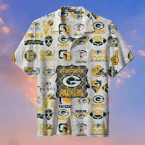 Green Bay Packers Hawaiian Shirts