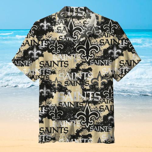 New Orleans Saints NFL Football Retro Print Unisex Hawaiian Shirt