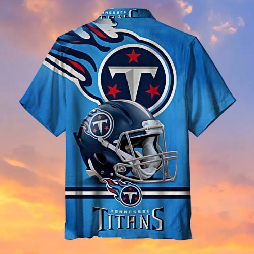 Tennessee Titans Blue Hawaiian Shirt