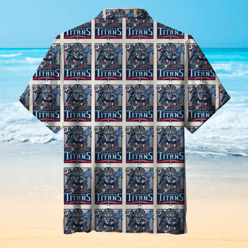 Tennessee Titans Plaid Hawaiian Shirt