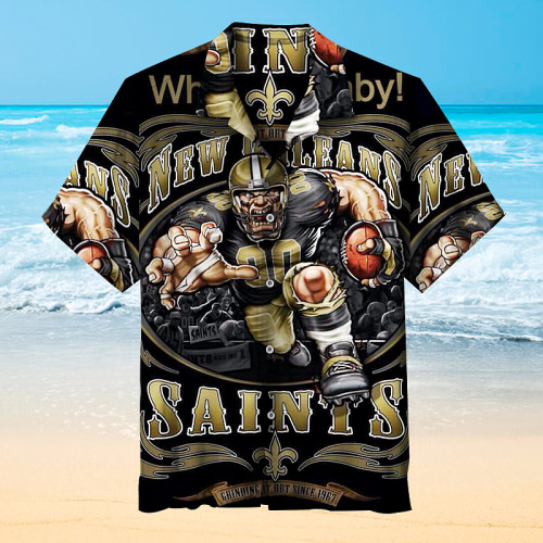 Who Dat Baby-New Orleans Saints Unisex Hawaiian Shirt