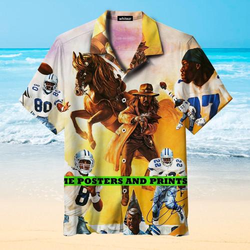 Indianapolis Colts Retro Hawaiian Shirt