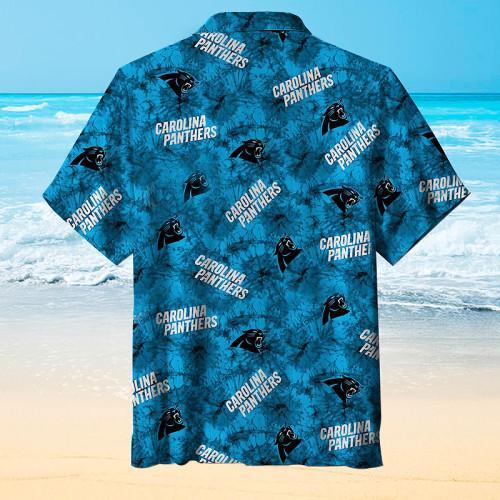 Carolina Panthers Printing Unisex Hawaiian Short Sleeve Shirt