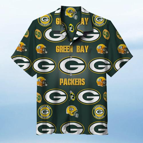 Green Bay Packers Rugby Team Unisex Hawaiian Shirt