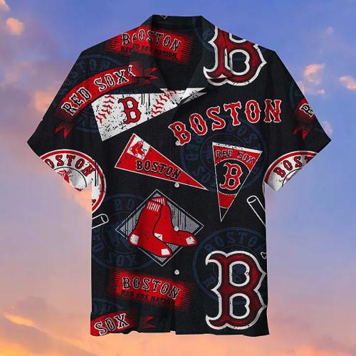 The Boston Red Sox Baseball Unisex Hawaiian Shirt