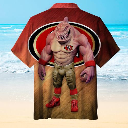 San Francisco 49ers Football Unisex Hawaiian Shirt