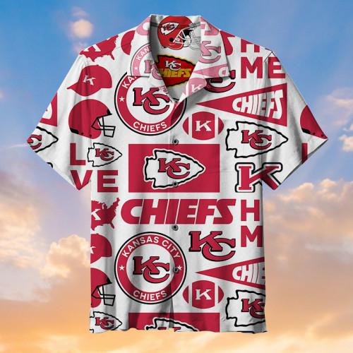 Kansas City Chiefs Logo-Hawaiian Shirt