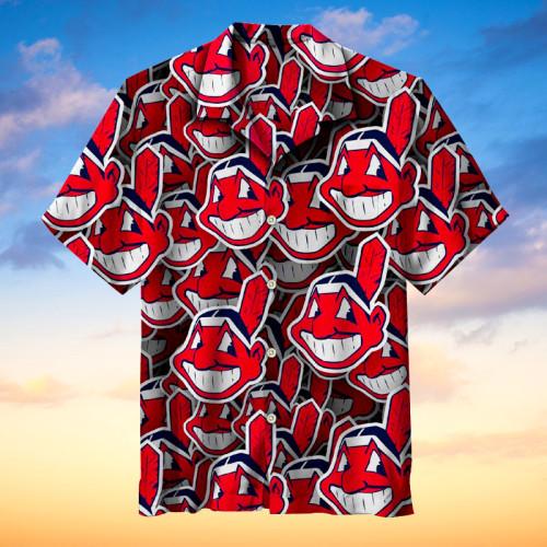 MLB Cleveland Indians - Hawaiian Shirts