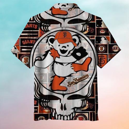 San Francisco Giants Baseball Hawaiian Shirt