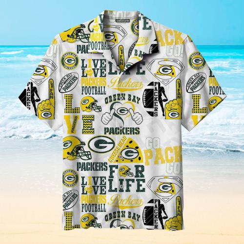 Green Bay Packers Unisex Hawaiian Shirts