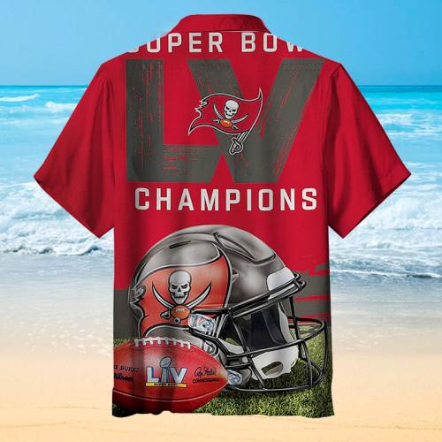 Tampa Bay Buccaneers Football Champions Hawaiian Shirt