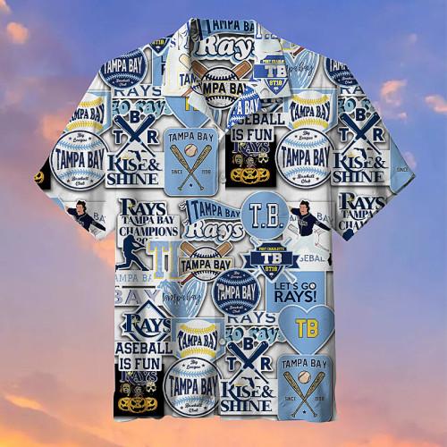 MLB Tampa Bay Rays- Hawaiian shirt