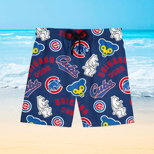 Chicago Cubs Hawaiian Shorts