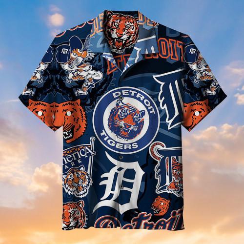 MLB Detroit Tigers Baseball Team - Hawaiian Shirts