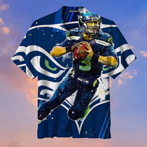 Seattle Seahawks Football Player Unisex Hawaiian Shirt