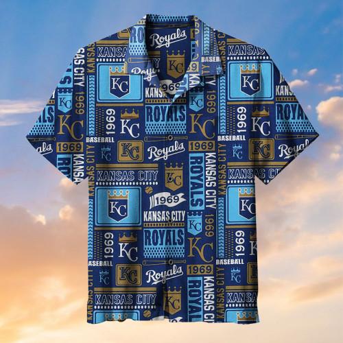 Kansas City Royals (baseball team) - Hawaiian shirt