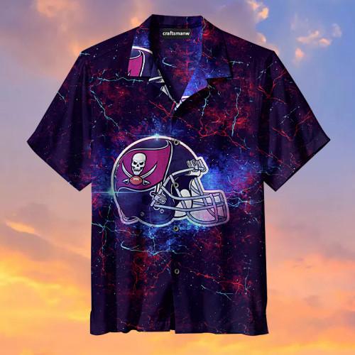 Amazing Tampa Bay Buccaneers Football Helmet Hawaiian Shirt