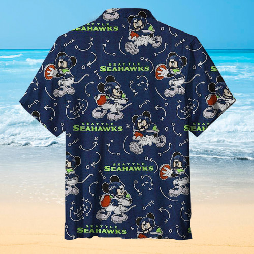 The Seattle Seahawks Classic Print Unisex Hawaiian shirt