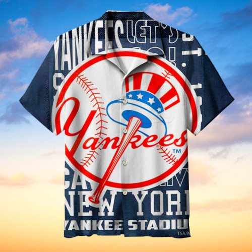New York Yankees Hawaii Kurzarmhemd