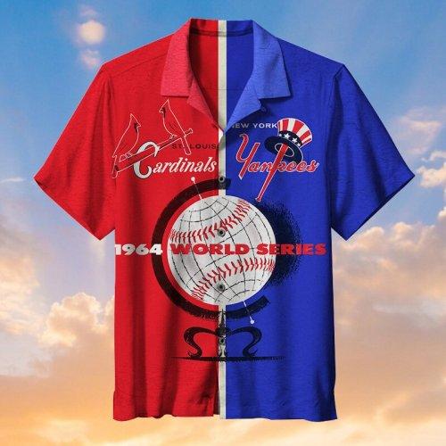 MLB New York Yankees VS St. Louis Cardinals - Hawaiian Shirt