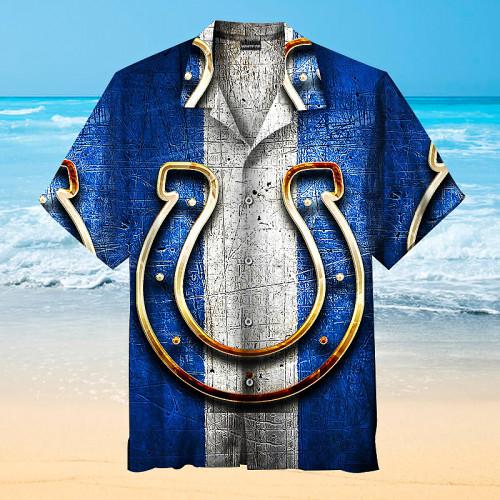 Indianapolis Colts Vintage Hawaiian Shirt