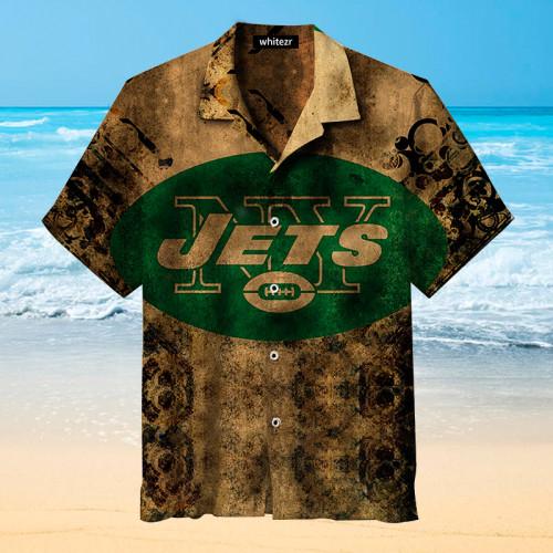 New York Jets Nostalgic Hawaiian Shirt