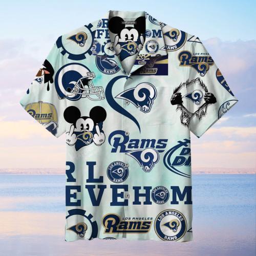 Los Angeles Rams Unisex Hawaiian Shirt