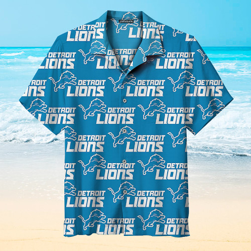 Detroit Lions - Hawaiian Shirts