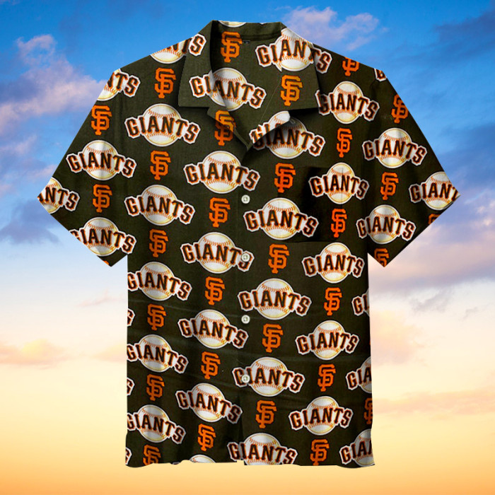 San Francisco Giants Hawaiian Short Sleeve Shirt