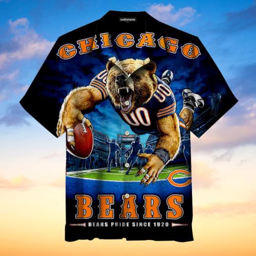 Chicago Bears Pride Since 1920 Print Unisex Hawaiian Shirt
