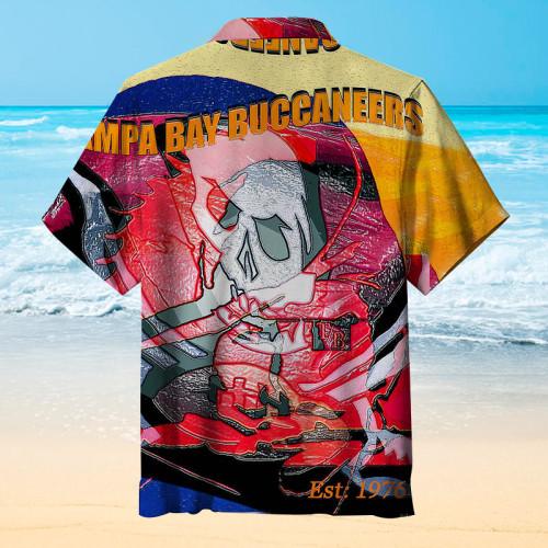 1976 Colorful Tampa Bay Buccaneers Unisex Hawaiian Shirt