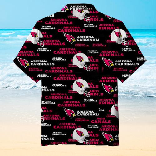 The Arizona Cardinals Football Unisex Short Sleeve Hawaiian Shirt