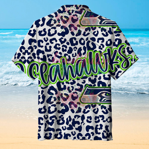 Seattle Seahawks Unisex Hawaiian Short Sleeve Shirt