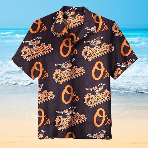 Baltimore Orioles - Hawaiian shirt