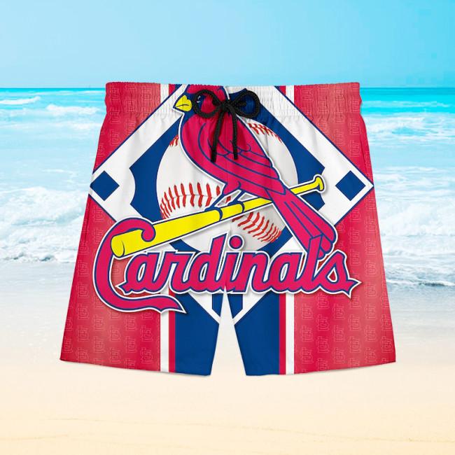 St. Louis Cardinals Hawaiian Shorts