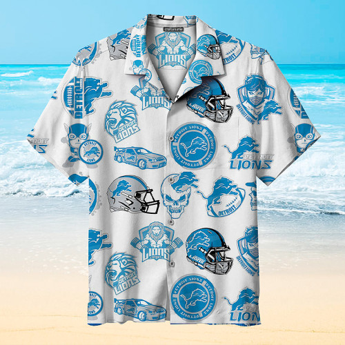 Amazing Detroit Lions Print Unisex Hawaiian Shirts