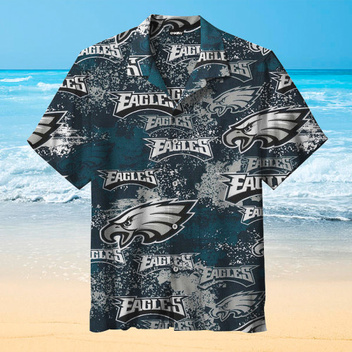 Philadelphia Eagles NFL Football Retro Print Unisex Hawaiian Shirt