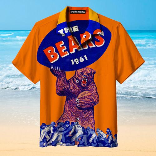 The Chicago Bears 1961 Rugby Unisex Hawaiian Shirt