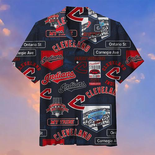 Cleveland Indians MLB Baseball Unisex Hawaiian Shirt