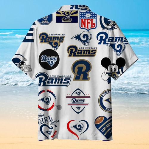Los Angeles Rams Country Print Unisex Hawaiian Shirt