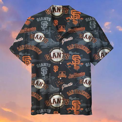 MLB-San Francisco Giants Retro Print Unisex Hawaiian Shirt