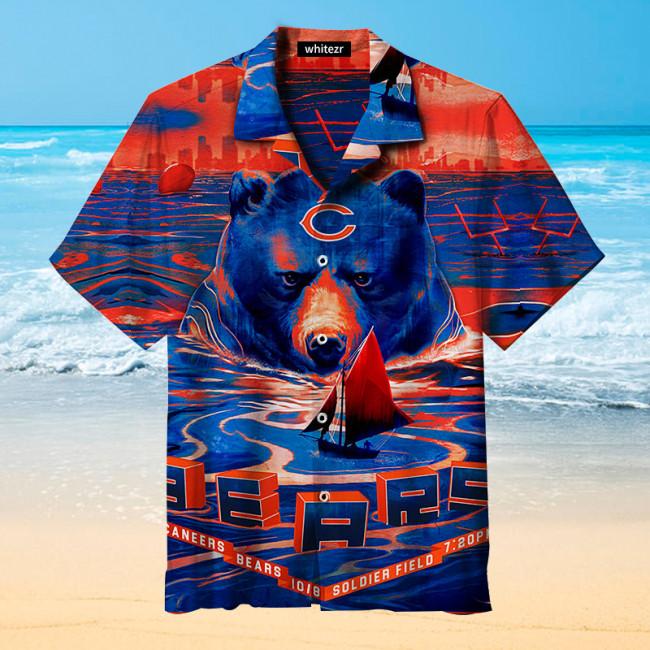 Amazing Chicago Bears Retro Print Unisex Hawaiian shirt