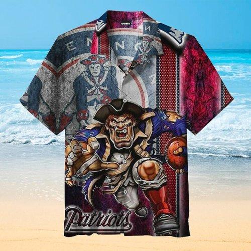 Super Bowl LIV Champion - New England Patriots Unisex Hawaiian Shirt